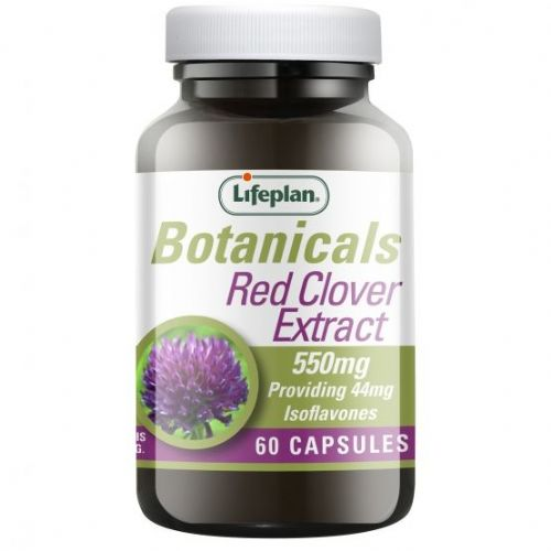 Lifeplan Red Clover 550mg 60 capsules